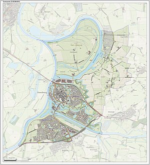 Doesburg - Dutch Topographic map of Doesburg, June 2015