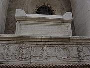 Ο τάφος του Πλήθωνα στο Ναό των Μαλατέστα (Tempio Malatestiano) στο Ρίμινι.