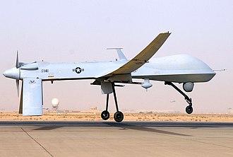 178th Wing - General Atomics MQ-1 Predator UAV 05-3141 taking off