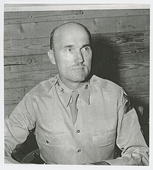 Carlos Brewer, one of the chiefs of the Artillery School Gunnery Department under McNair