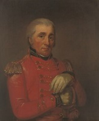 93rd (Sutherland Highlanders) Regiment of Foot - General William Wemyss, founder of the regiment, circle of Sir Henry Raeburn
