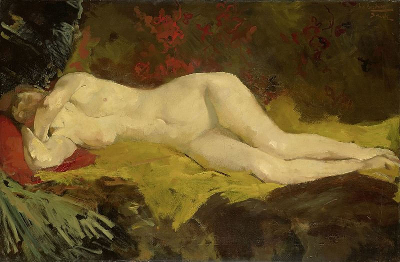 Archivo: George Breitner - Nude.jpg reclinable