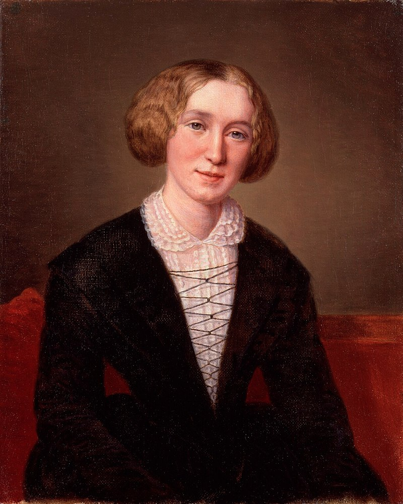 George Eliot at 30 by Fran%C3%A7ois D%27Albert Durade.jpg