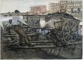 George Hendrik Breitner - Grondkruiers met karren.jpg