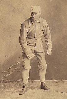 George Van Haltren American baseball player