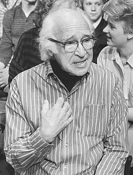 George Wald in 1987