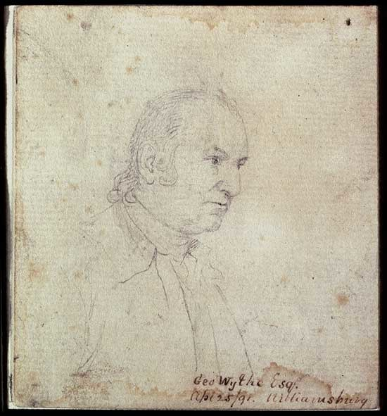 George Wythe by John Trumbull