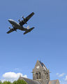 Georgia Air Guard honors D-Day vets with Sainte Mère Église flyover 140605-Z-PA223-004.jpg