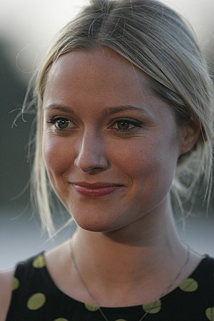 Georgina Haig played Henrietta Bishop, Peter and Olivia's daughter. Georgina Haig.jpg