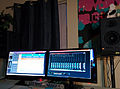 Getting my tracks for Dominae mixed today! (2014-02-08 by Mike Prosser).jpg