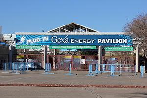 Starplex Pavilion - Image: Gexa Energy Pavilion
