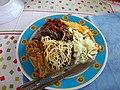 Ghanaian Wache (Waakye) cuisine food.jpg