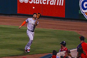 Giancarlo Stanton - Stanton makes a catch