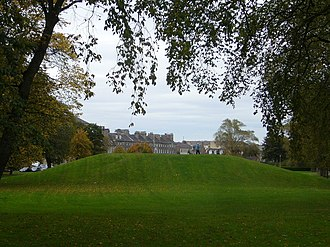 "Leith Links - The earthwork known as ""Giant's Brae"", on Leith Links"