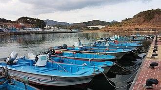 Gijang County - Gijang fishing village