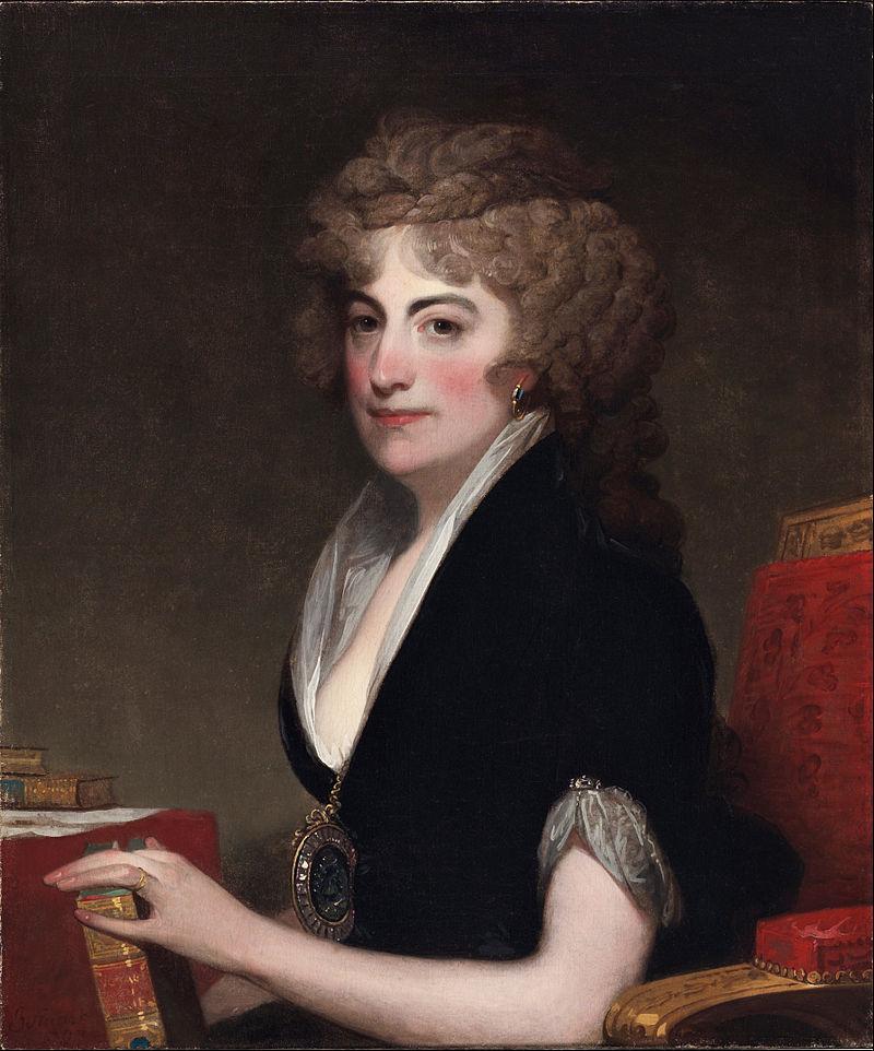 Gilbert Charles Stuart, American - Portrait of Anne Willing Bingham - Google Art Project.jpg