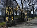 Gilded entrance to St Pancras Gardens - geograph.org.uk - 1157574.jpg