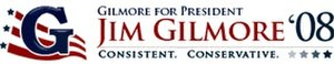 Jim Gilmore presidential campaign, 2008 - Image: Gilmore logo