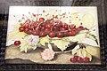 Giovanna garzoni, piatto di ciliege con due garofani, 1642-51 ca. (pitti) 01.JPG