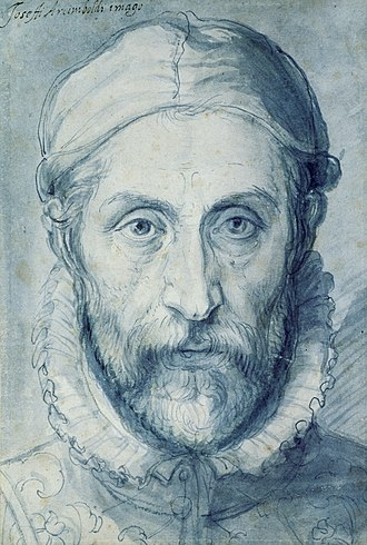 Giuseppe Arcimboldo - Self-portrait, now in National Gallery in Prague, Google Art Project