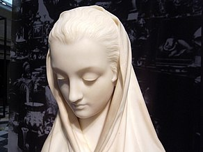 "Glasgow. Kelvingrove Art Gallery and Museum. Giosuè Argenti - ""Modesty"" (1866).jpg"