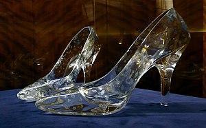 Dartington Crystal - Image: Glass slippers at Dartington Crystal