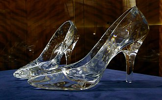Dartington Crystal - Image: Glass slippers at Dartington Crystal