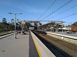 Glenfield railway station, Sydney