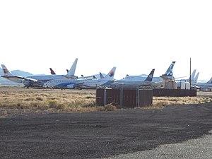 "Phoenix Goodyear Airport - The Phoenix-Goodyear Airport ""bone-yard"" where planes no longer in use are kept."