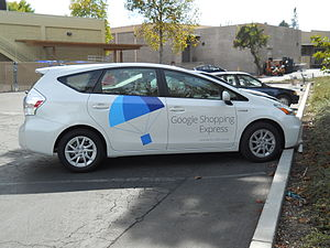 Google Express - Google Shopping Express vehicle, newer livery