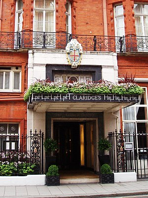 Gordon Ramsay - Ramsay's restaurant at Claridge's in June 2008, which closed on 30 June 2013
