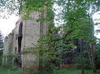 Kočov - Ruins of the Church of Saint John the Baptist