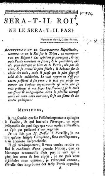 File:Gouges - Sera-t-il roi (1791).djvu