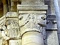 Gournay-en-Bray (76), collégiale St-Hildevert, bas-côté sud, chapiteau de l'arcade vers le transept, côté nord 1.jpg