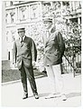 Governor James M. Cox of Ohio and Franklin D. Roosevelt of New York, arriving at the White House for conference with the president LCCN91795742.jpg