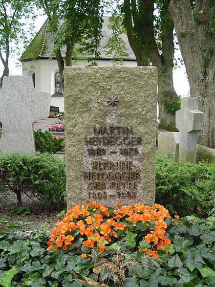 Heidegger's grave in Messkirch Grab Heidegger.JPG
