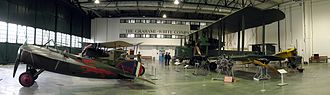 Claude Grahame-White - Grahame-White Factory interior, reconstructed at the RAF Museum London