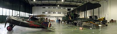 Grahame-White Factory interior, RAF Museum London