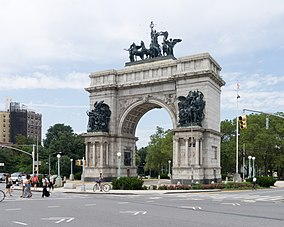 Grand Army Plaza Brooklyn New York August 2013.jpg