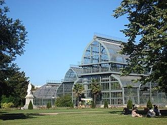 Jardin botanique de Lyon - Large greenhouses