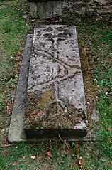 Grave Slab 1 Metre East Of South Aisle Of Church Of St Lawrence