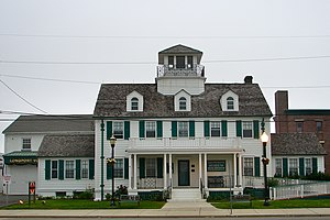 Longport, New Jersey - Great Egg Coast Guard Station in Longport