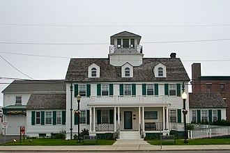 Longport, New Jersey - Great Egg Coast Guard Station in Longport