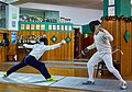Greek Epee Fencers. Evening training at Athenaikos Fencing Club.jpg