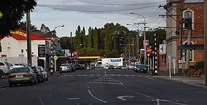 Green Island, New Zealand - Photograph of Main South Road, Green Island, Dunedin.
