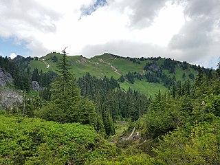 Green Mountain (Snohomish County, Washington) peak in the Glacier Peak Wilderness in Snohomish County, Washington, USA