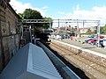 Greenock Central railway station, Inverclyde Line, Scotland - view west.jpg