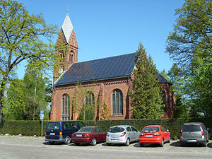 Solar power in Germany - Image: Greifswald Dorfkirche Wieck May 2009 SL272548