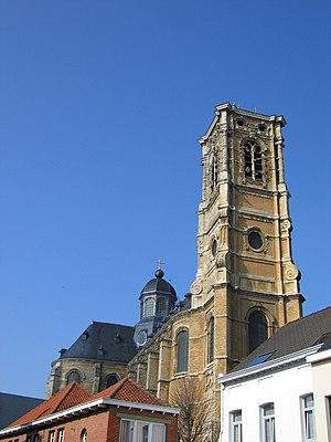 Grimbergen - Image: Grimbergen abdijkerk