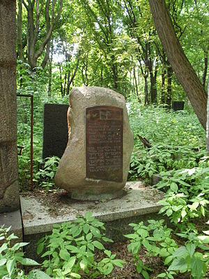 Henryk Ehrlich - Symbolic grave of Wiktor Alter and Henryk Ehrlich in Warsaw, Poland